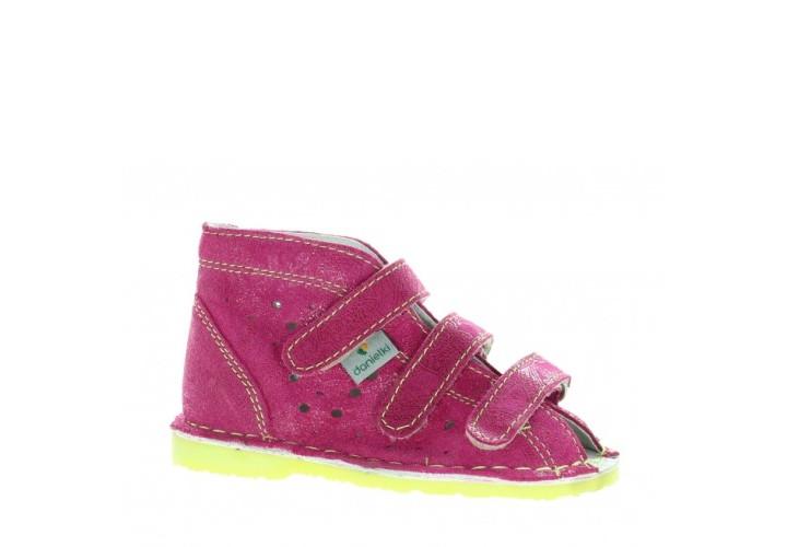 Ортопедичне взуття DANIELKI TA125 Малинові