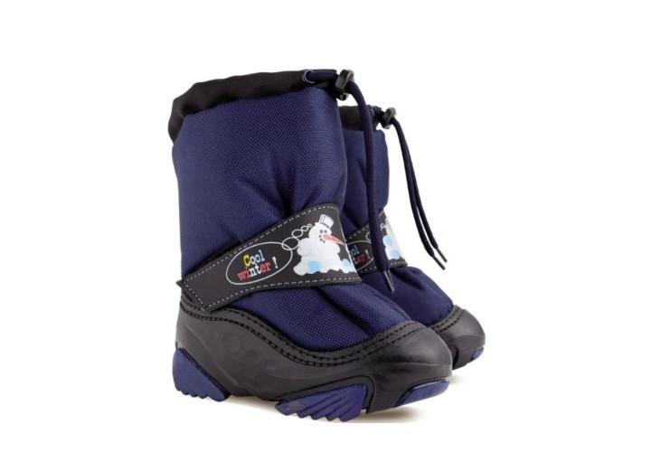 Черевики зимові  DEMAR 4010-Snow Man темно-сині