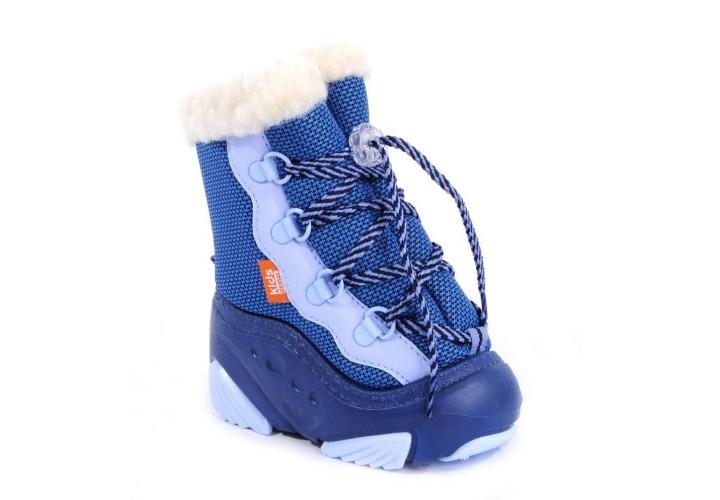 Черевики зимові  DEMAR 4017-Snow Mar сині