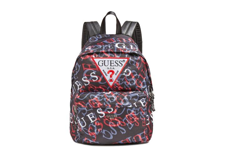 Рюкзак для хлопчиків Guess Kids Dylan Black Multi