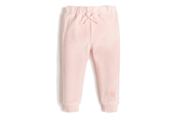 Штани для дівчаток Guess Kids Pink Palm Tree