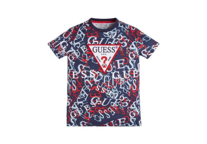 Футболка для хлопчиків Guess Kids All Over Sport Logo
