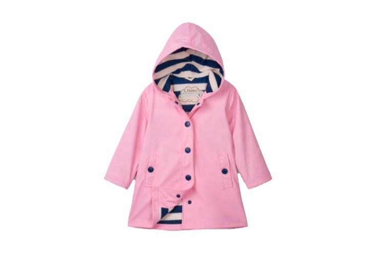 Плащ дощовик Hatley Classic Pink with Navy Stripe RС8PINK248