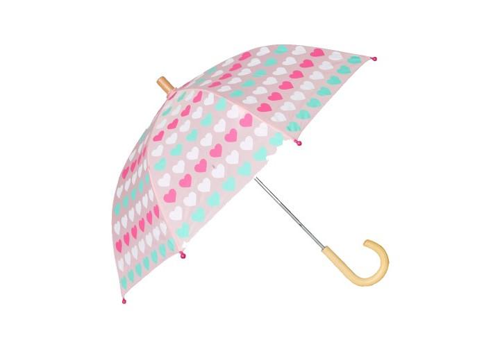 Зонтик Hatley Multicolour Hearts S20LHK021