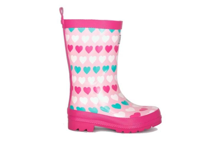 Гумові чоботи Hatley Multicolour Hearts S20LHK1366