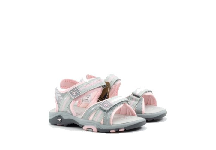 Сандалі KangaROOS K-Lane: vapor grey/frost pink 18491 2063