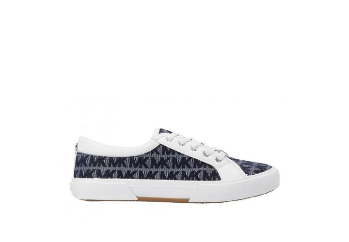 Кроссовки для девочки Michael Kors Ima Rebel-White/Navy Jacquard