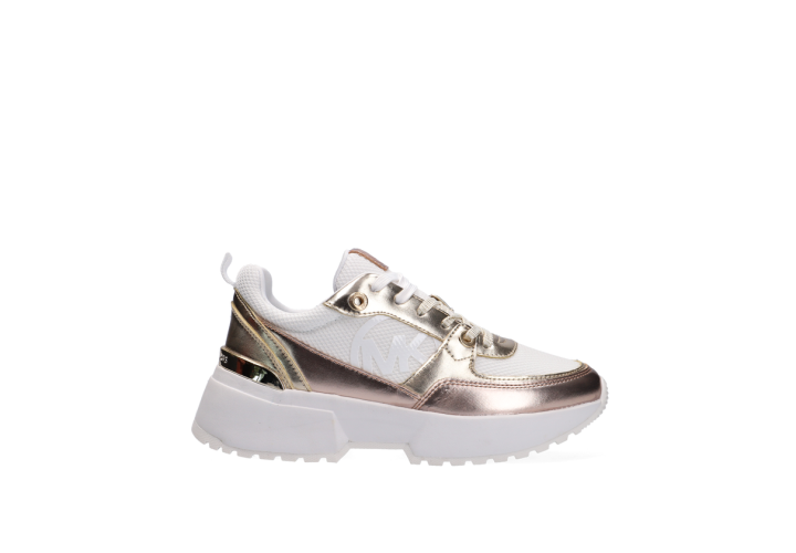 Кроссовки для девочки Michael Kors Cosmo Sport-Gold Monomesh