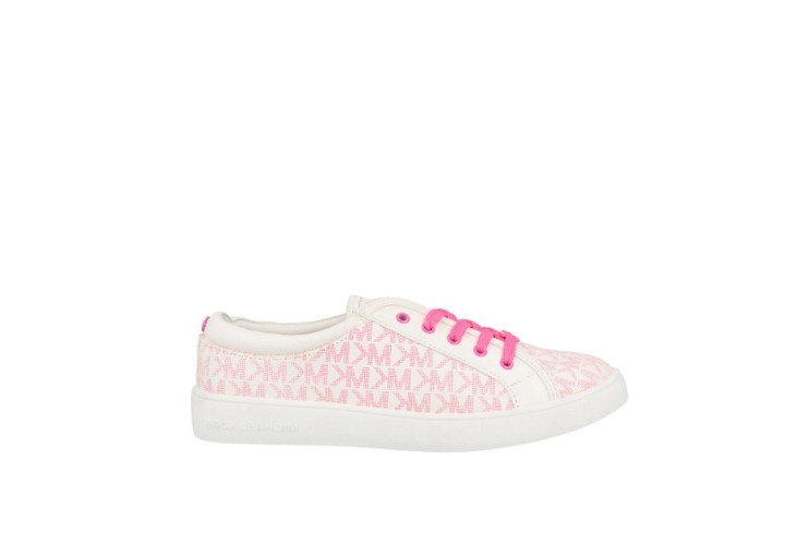 Кроссовки для девочки Michael Kors Jem Miracle-White/Neon Pink Jacquard