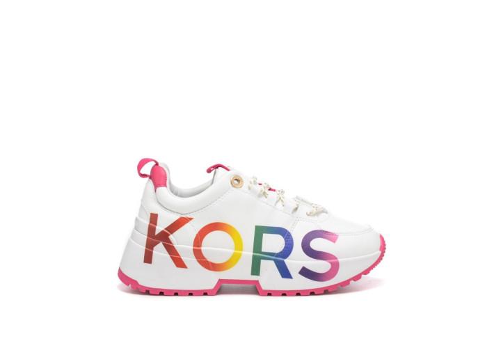 Кросівки для дівчаток Michael Kors Cosmo Meetu-White Smooth