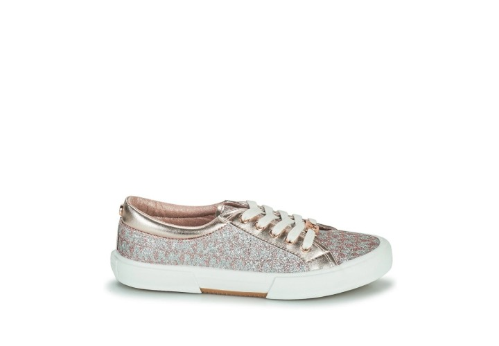Кроссовки для девочки Michael Kors Ima Tinsel-Pink Monogram Glitter