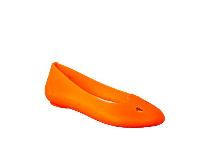 Балетки гумові помаранчеві 4/2096/B-ARA F
