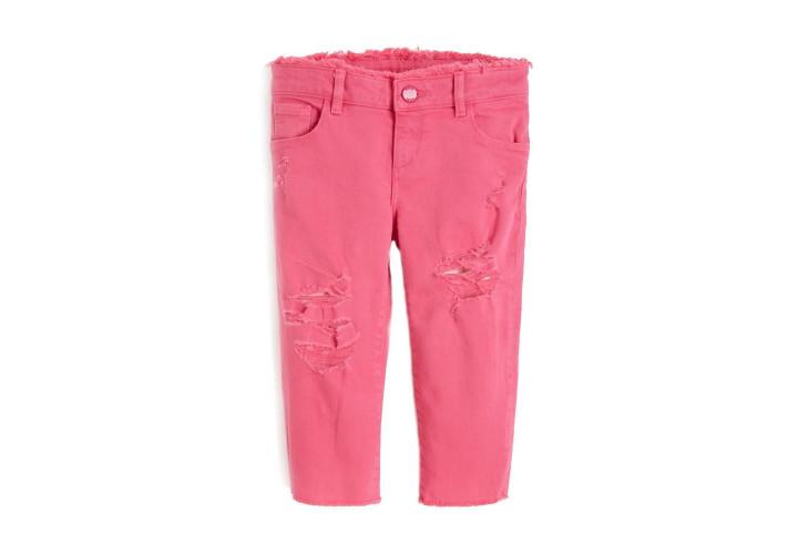 Джинсы для девочек Guess Kids Jealous Pink