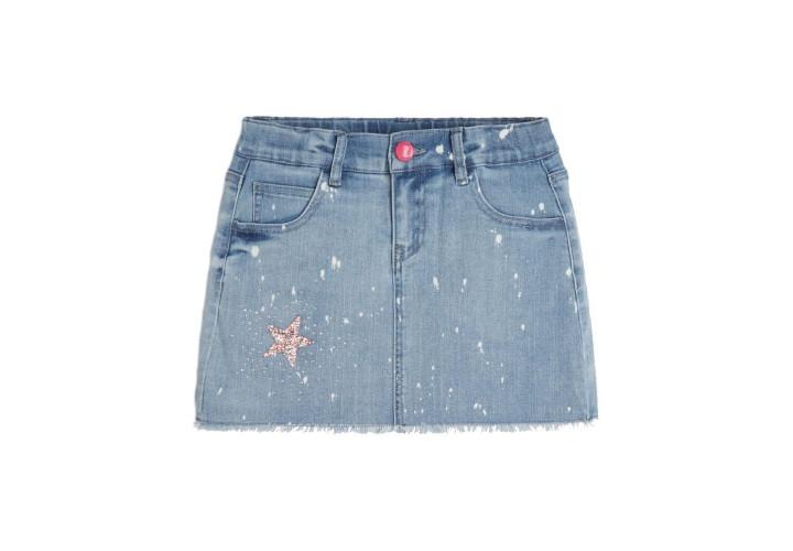 Спідниця для дівчаток Guess Kids Spoted Blue Wash
