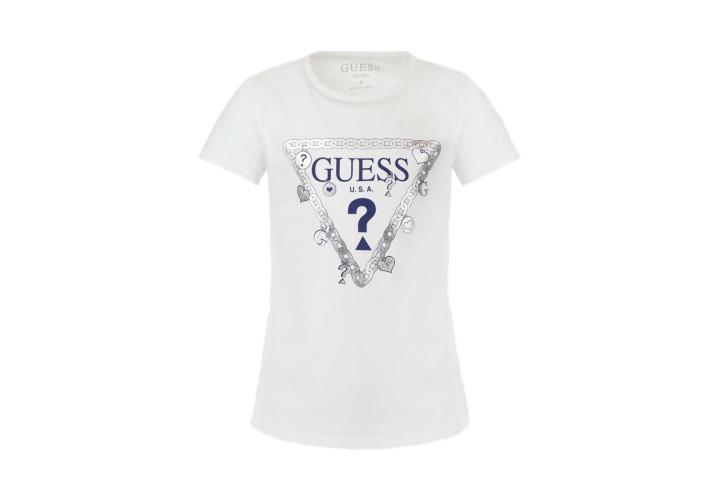 Футболка для дівчаток Guess Kids True White A000