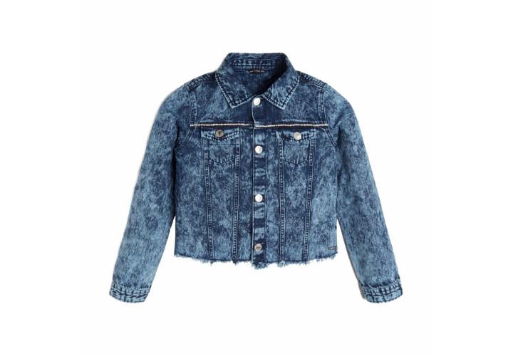 Куртка для девочек Guess Kids Cloudy Blue With STR