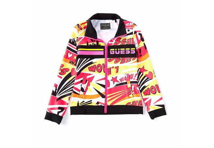 Кофта для девочек Guess Kids Popstar Yellow Multi