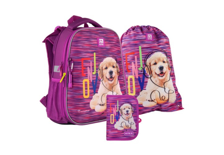 Набор рюкзак+пенал+сумка для обуви Kite 531 R