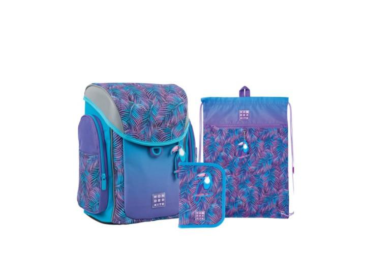Набір рюкзак+пенал з нап.+сумка для взуття WK 583 Tropic