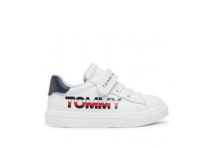 Кроссовки для мальчика Tommy Hilfiger White/Blue
