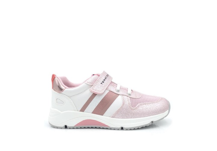 Кроссовки для девочки Tommy Hilfiger Pink/White