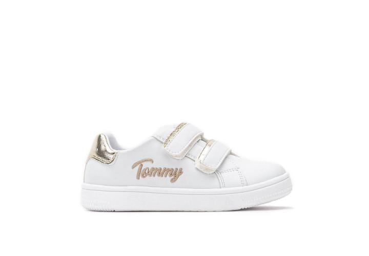 Кросівки для дівчаток Tommy Hilfiger White/Platinum